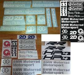 HP4 sponsor decals stickers graphics kits