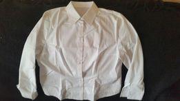 Блуза женская классическая белая х\б 46 размер