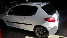 206 body for sale needs engin and gearbox