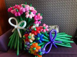Букеты из шаров .Цветы .Фигуры из шаров .Дни рождения ,выписки роддом