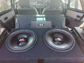 """Ice Power Subs 15"""" 7000w each With Box"""