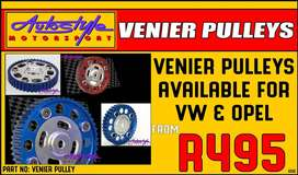vernier pulley pulleys available for VW, volkswagen and opel, brand ne