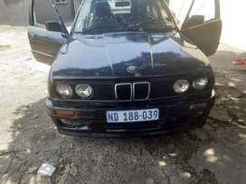 E30 rolling chassis with gearbox 20000