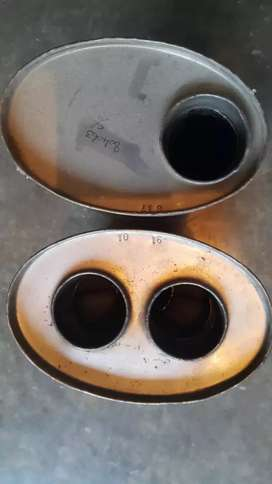 Cowley exhaust boxes New