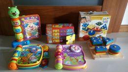 Zabawki, puzzle, lalki (m.in.Vtech, Fischer Price, Lamaze, Djeco)