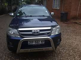 Toyota Fortuner 2006 manual