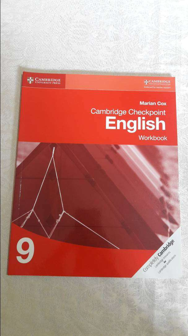 Cambridge Checkpoint English Workbook 9 by Marian Cox 0