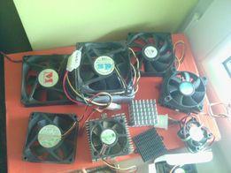 wentylatory radiatory do komputera