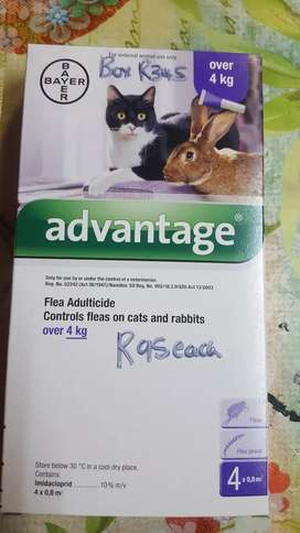 Advantage fle adultcide fo cats and rabits