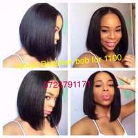 Image of Brazilian hair bob cut for 1100