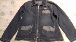 Пиджак джинсовый.
