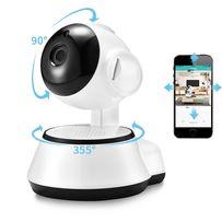 IP камера видеонаблюдения Wi-Fi поворотная радио-видеоняня 1mp/720p