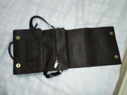 сумочка кожаная через плечё