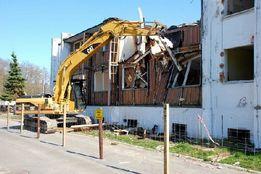 Разборка строений, демонтаж