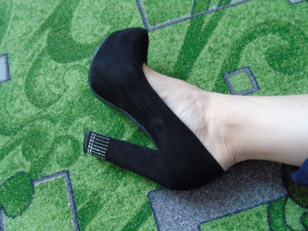 Туфли черные Doreen Doris 37 р. Мелитополь - изображение 3