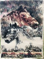 """Ковер """"Лошади"""", """"Верблюд"""" 120х90 см, палас, гобелен, нов. пр-во Египет"""