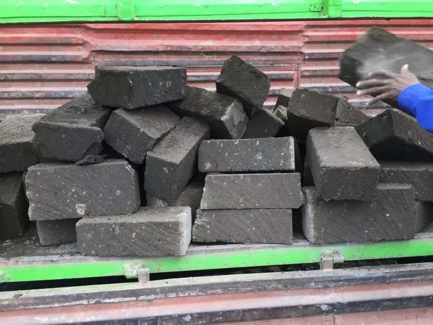 selling machine cut building stones and offering transport services. 0