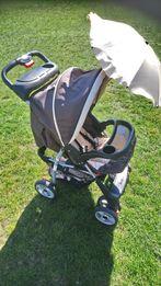 Wózek spacerowy z parasolka