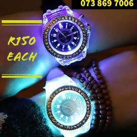 Watch Flashing Watches on Sale