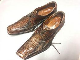 Włoskie męskie buty skórzane r. 41. KRK