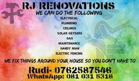 Qualify  Electrician  and Handy man in  Brakpan