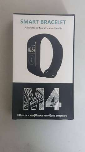 M4 Smart Bracelet / Fitness Tracker  (Heart Rate - Blood Pressure - Mo