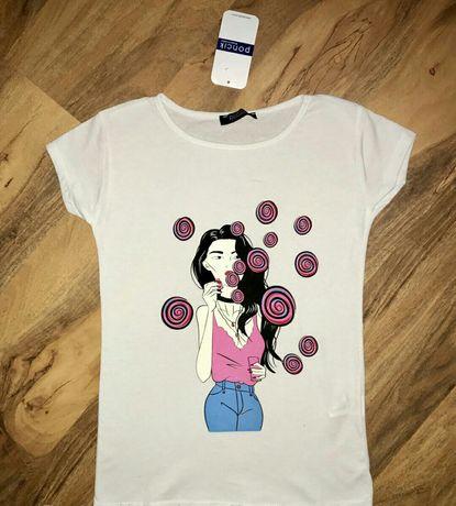Женская футболка хлопок размер 42. 44. Херсон - изображение 5