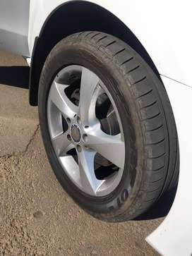 Mercedes Rimz and tyres size 17