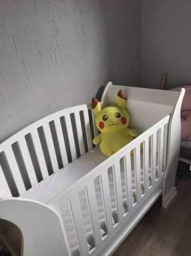 Sleigh Large Cot