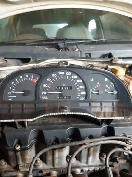 Opel astra instrument cluster