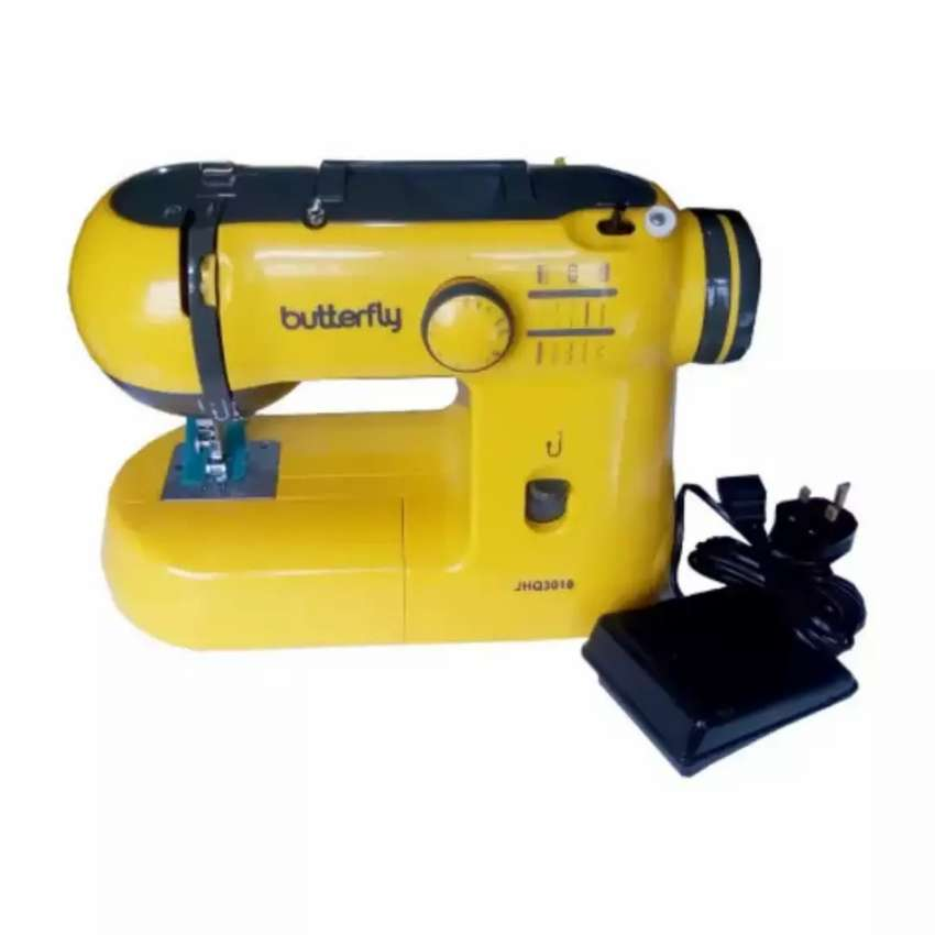 Butterfly Electric Portable Sewing Machine 0