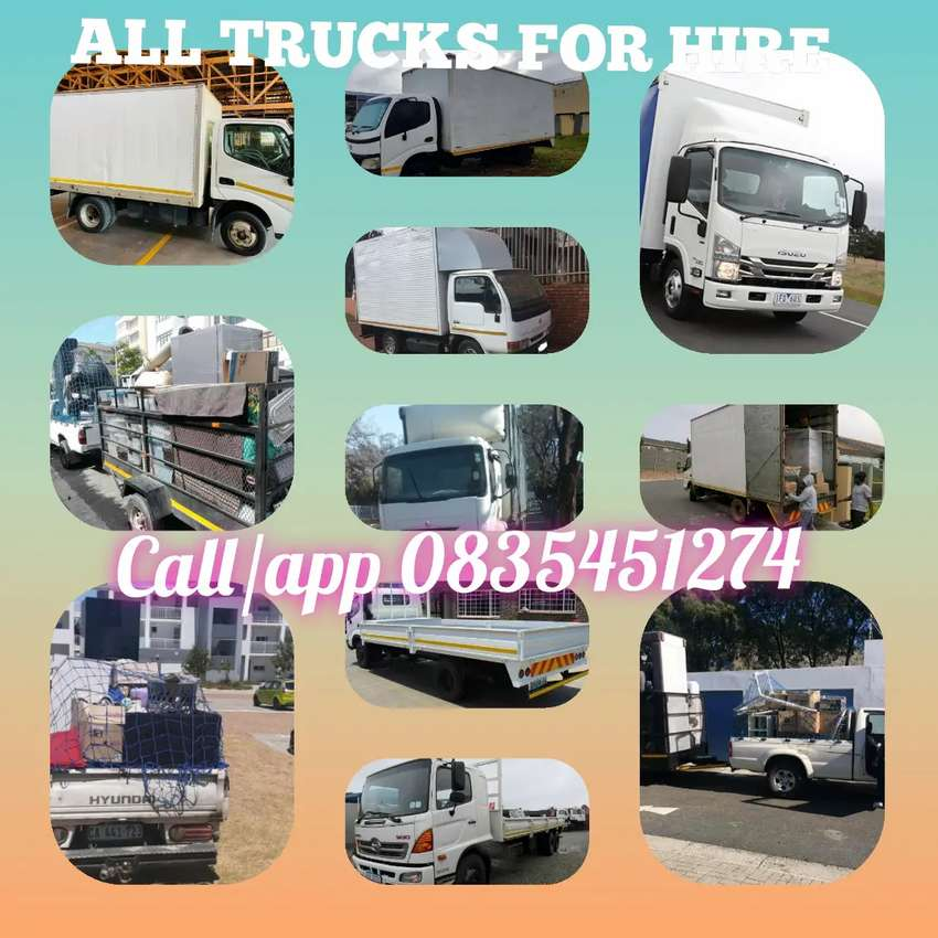 All trucks available 0