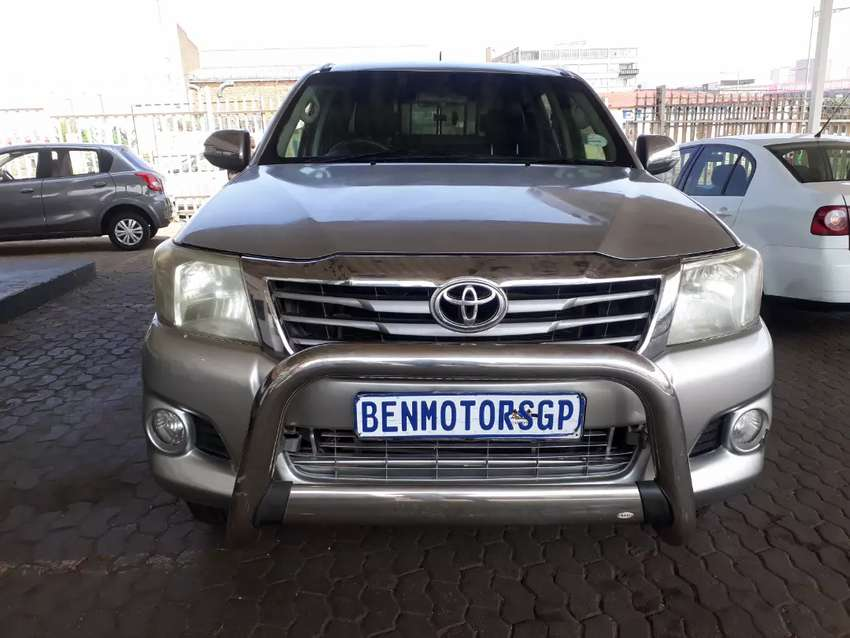 For Sale:2012 Model Toyota Hilux,Engine 2.5D4D, 4x4 0