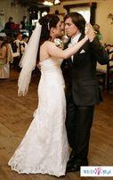 Piękna śnieżnobiała suknia ślubna Casablanca