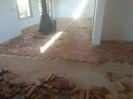 Installation, Sanding and Sealing of Wooden Floors