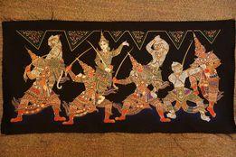 Шелковые батики кхмерский фольклор