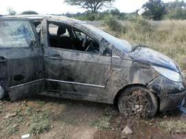 Accident damaged Tata for sale. Excluding Engine
