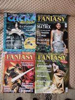 Click! Fantasy - 14 numerów + 9 płyt, plakaty, książki, film i gratisy