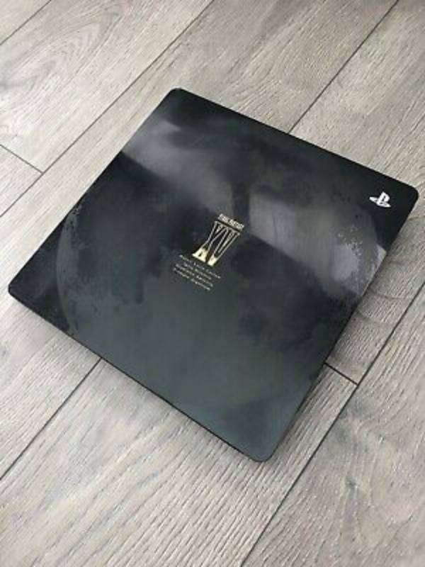 Final Fantasy Sony Black Playstation 4 with Games 0