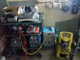 Заправка и ремонт авто-кондиционеров. Мойка радиаторов и систем кондиц