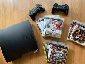 Playstation 3 with 10 free games