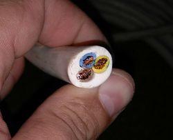 Медный кабель 3х6мм многожильный