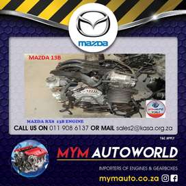 MYM IMPORTER OF USED MAZDA RX8 13B ENG