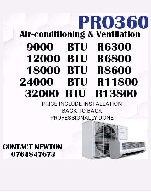 Air-conditioning and Ventilation 0
