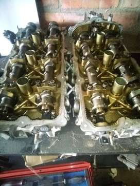 NISSAN 350Z FAIRLADY (VQ35DE) CYLINDER HEADS AND CAMSHAFTS