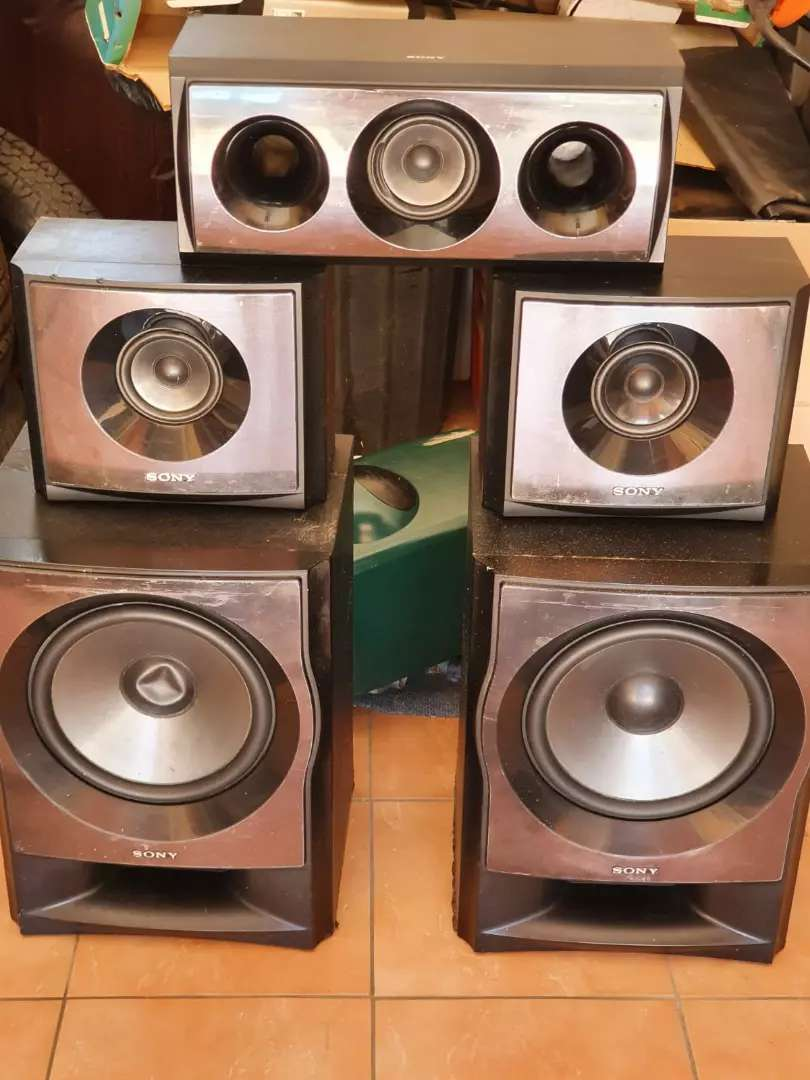 Sony speakers only