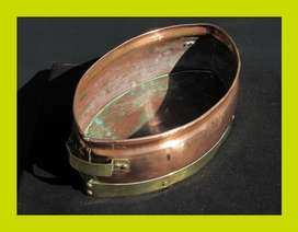 Vintage Copper and Brass Container SKU: 990