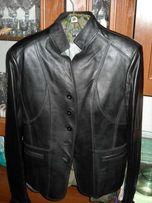 Кожаный пиджак женский( блейзер)