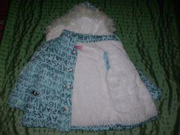 Куртка на меху, 5-6 лет для девочки