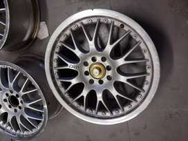 """17"""" mag rims for Toyota, Ford, Chevrolet  and Opel 4x 100 or 108 pcd"""